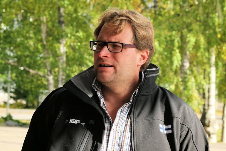Antero Levänen, kuva Pekka Huovila
