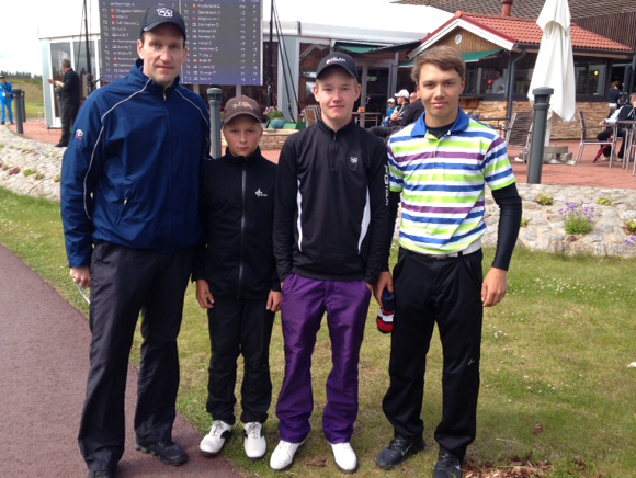 Jalopeurat golfin SM-kisoissa