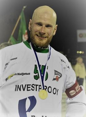 Janne Hauska maaliskuun pelaaja