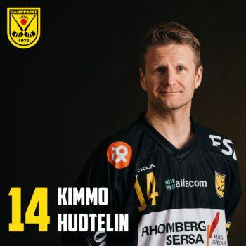 Kimmo Huotelin jatkaa komeaa uraansa Kamppareissa