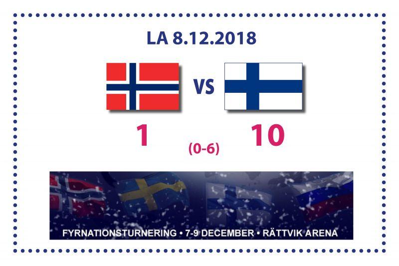 Suomi selvin luvuin voittoon Norjasta