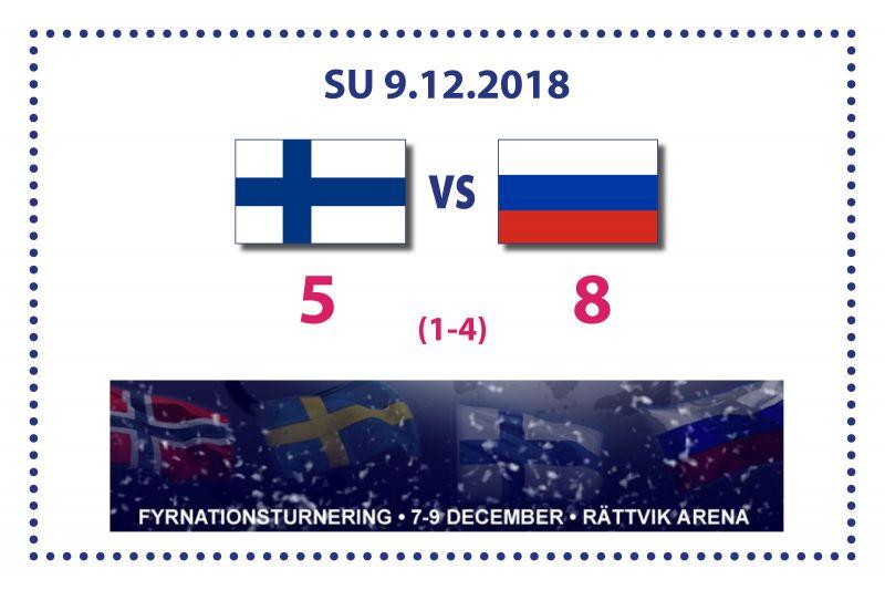 Suomen kiri ei riittänyt Venäjää vastaan