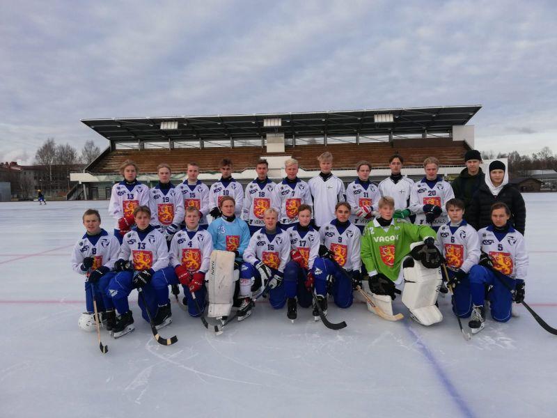 P17 maajoukkue leireilee Mikkelissä