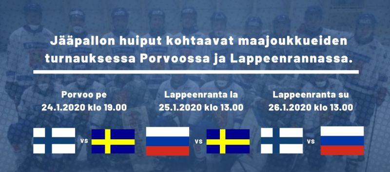 Suomen A-maajoukkue Suomen turnaukseen